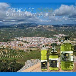 Aceite Oliva Virgen Ext. Fresco sin Filtrar (8 botellas de 2 litros)