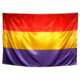 Bandera Republicana cosida a mano 150×90 cm