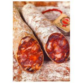 Chorizo y Salchichón Ibéricos piezas de 1 kg. aprox.