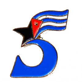 Pin 5 cubanos
