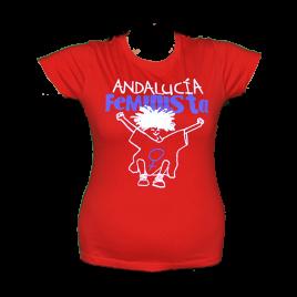 Camiseta Andalucía Feminista + Bloc de Notas Andalucía Feminista