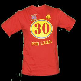 Camiseta 30 PCE Legal y 35 Ferias