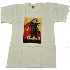 Camiseta Lenin 80 aniversario Revolución Rusa