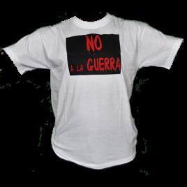 Camiseta No a la Guerra editada en 2003