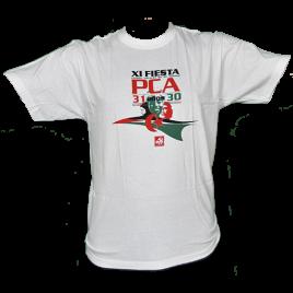 Camiseta de la XI Fiesta PCA
