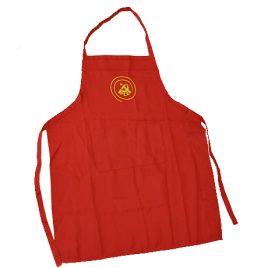 Delantal de Cocina para niños/as y logo del PCE  Bordado