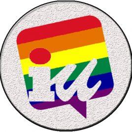Chapa IZQUIERDA UNIDA LGTBI