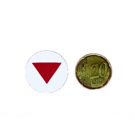 Chapa Triangulo Rojo