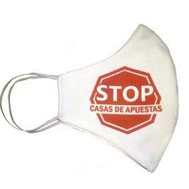 Mascarillas Stop Casas de Apuestas