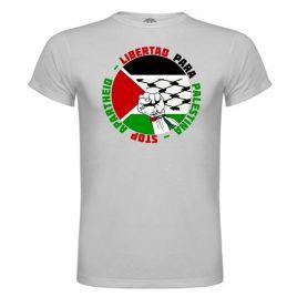 Camiseta Stop Apartheid