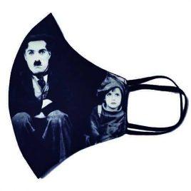 Mascarillas Chaplin y el Vagabundo