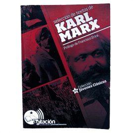 Selección de Textos Karl Marx. Prólogo de Francisco Erice.