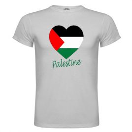 Camiseta Palestina en el Corazón