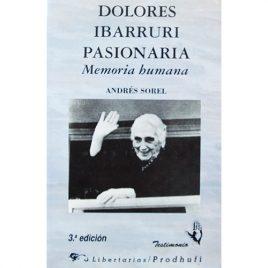 Libro Dolores Ibárruri Pasionaria. Memoria Humana.