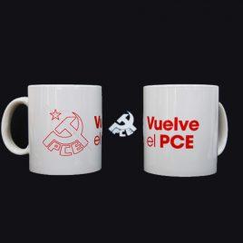 Tazas Vuelve El PCE