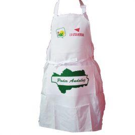 Delantal de Cocina Profesional con Logo Izquierda Unida
